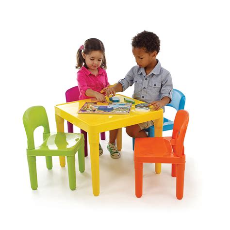 Childrens Kitchen Table Plastic Tables And Chairs Marceladick