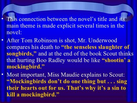 a theme of to kill a mockingbird to kill a mockingbird symbols
