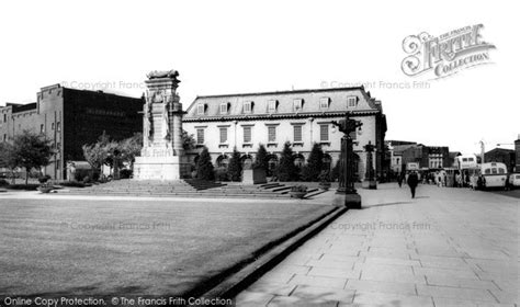 rochdale the memorial and the post office c 1965