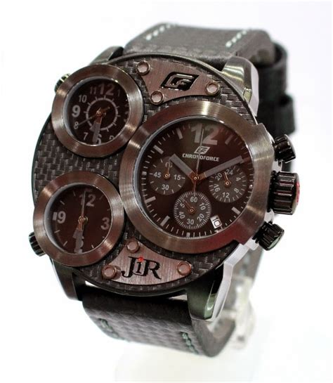 Chronoforce Black White Original pusatnya jam tangan original dan berkualitas chronoforce