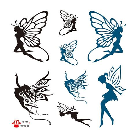 fairy silhouette tattoo designs tribal designs search tatoo