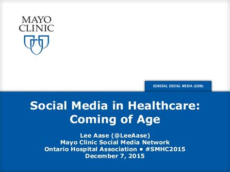 healthcare and social media social media in healthcare coming of age