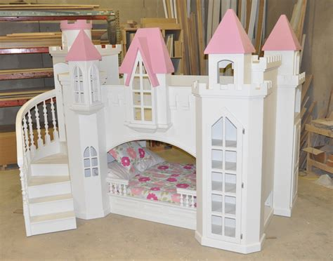 Castle Loft Bed by Braun Castle Bunk Bed A Princess Castle Bed For