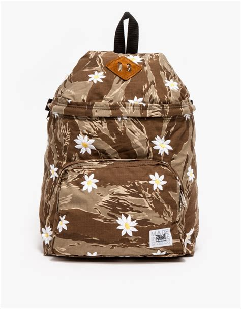 Lino Backpack Tiger Embroidered Tiger Camo Soletopia
