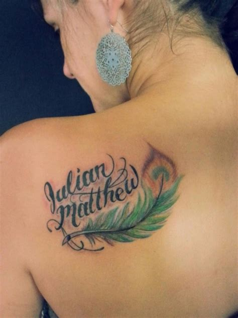 40 adorable ideas of tattoos with kids names