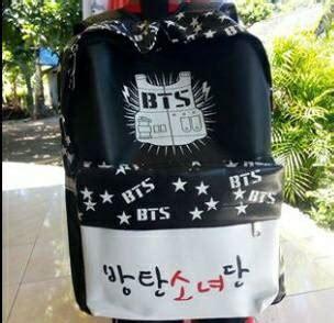 Tas Bagpack Wanita Bts 738 jual tas ransel backpack bts bangtan boys new print