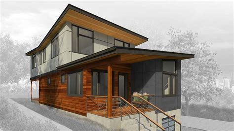 prefab method homes house in the valley