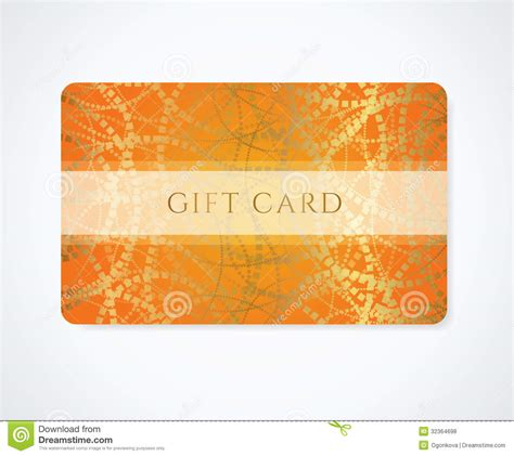 discount card template free gift card discount card business card abstract stock