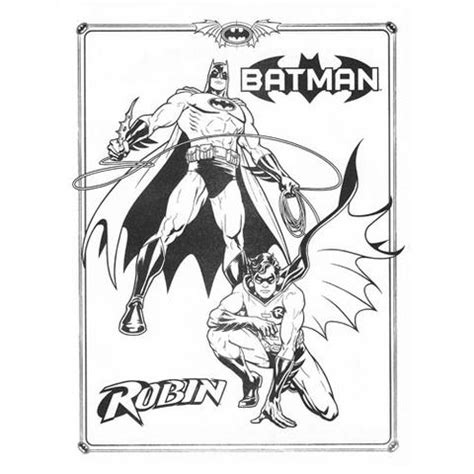 Free Batman And Robin Coloring Page To Print Simply Batman And Robin Coloring Pages