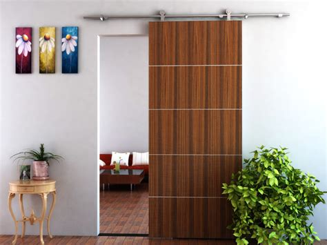 modern barn door hardware for wood door modern barn