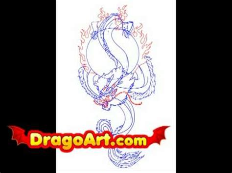 japanese dragon tattoo youtube how to draw a chinese dragon tattoo step by step youtube