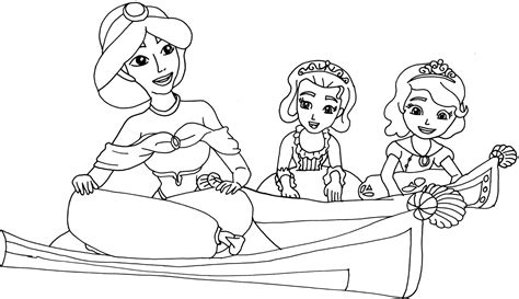 sofia the first coloring pages bestofcoloring com