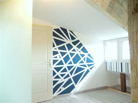 Mur Peinture Graphique by Peinture Graphique Mur Search Diy Chambre