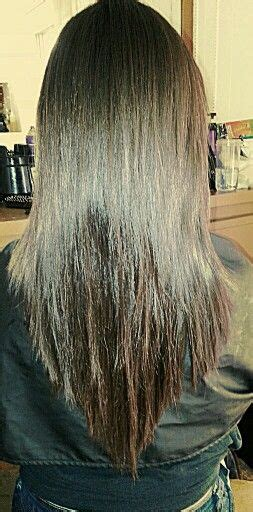 hair cut is lumpy layers not blending 17 best ideas about v shape hair on pinterest v shaped