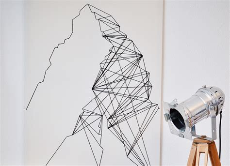String Wall - geometric wall 183 how to make string 183 needlework