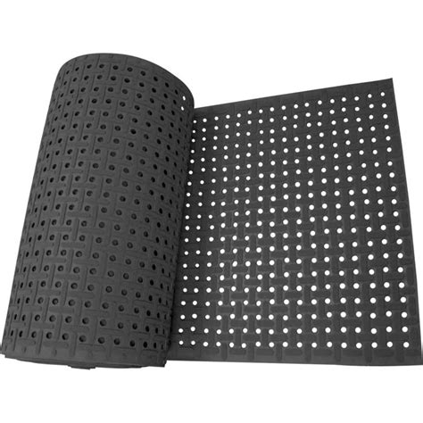 Rubber Mat Runners by Quot Paw Grip Quot Grease Resistant Rubber Runner The Rubber