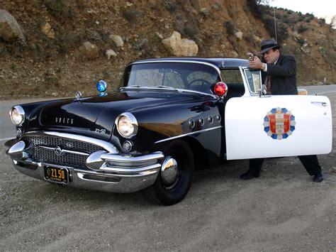 Chp Log 1955 buick century sedan highway patrol police retro h