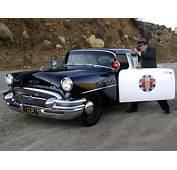 1955 Buick Century Sedan Highway Patrol Police Retro H