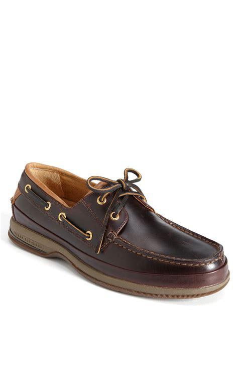 sperry cup 2 eye boat sneaker sperry top sider gold cup 2 eye asv boat shoe in brown