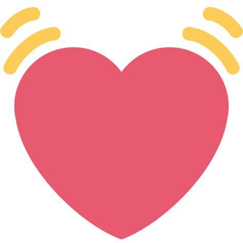 imagenes en png de emojis coraz 243 n latiendo emoji