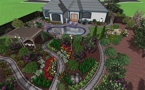 Landscape Design Software From Photo Landscape Ideas From Me Landscape Plans With Pictures
