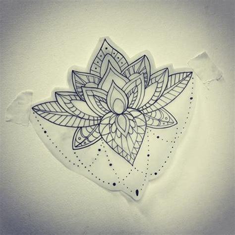 mandala tattoo lotus meaning lotus mandala pinteres