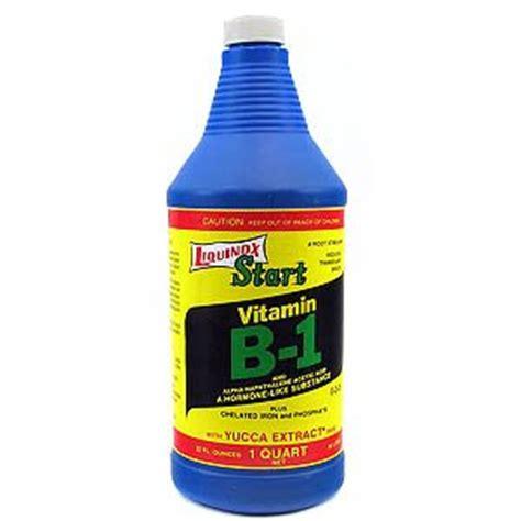 Liquinox Start Vitamin B1 Msds liquinox 1 0 2 0 vitamin b1 start 1 quart