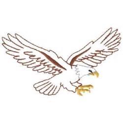 Flying Eagle Outline by Eagle Outline Cliparts Co