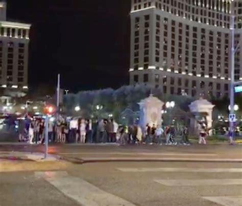 las vegas shooting venue las vegas shooting bellagio hotel guests flee in panic