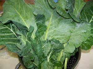 colored greens kitchen simmer curried collard greens