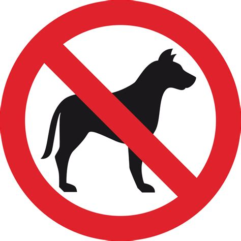 no puppies clipart no sign