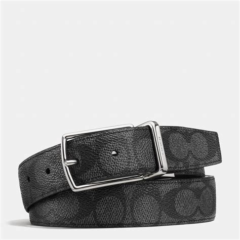 couch belts coach modern harness cut to size reversible signature belt