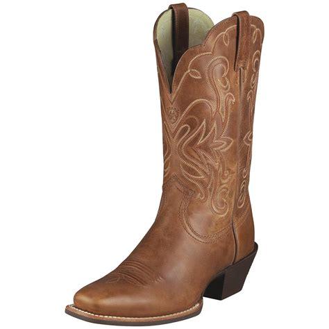 womans country boots s ariat 174 11 quot legend cowboy boots russet 282499