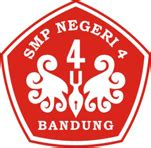 Lpr B Indonesia Smp Jl 3 Ktsp logo resmi smpn 4 bandung
