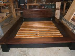 Platform Bed Frame Plans Plans To Build A Platform Bed With Drawers