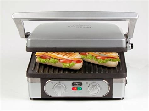 panini grill test domo panini grill do9051g raclette grill tests