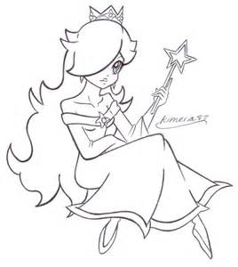 chibi rosalina coloring pages chibi free printable coloring on super mario coloring pages rosalina - Rosalina Peach Coloring Pages