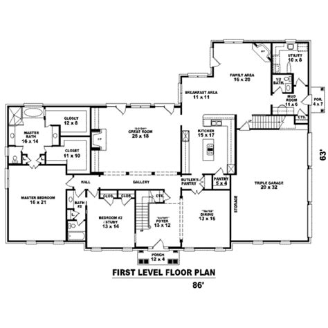 suson place colonial home plan colonial style house plan 4 beds 4 00 baths 4574 sq ft