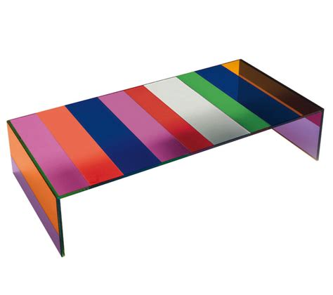 multi coloured table l the side of the moon coffee table 155 x 55 cm