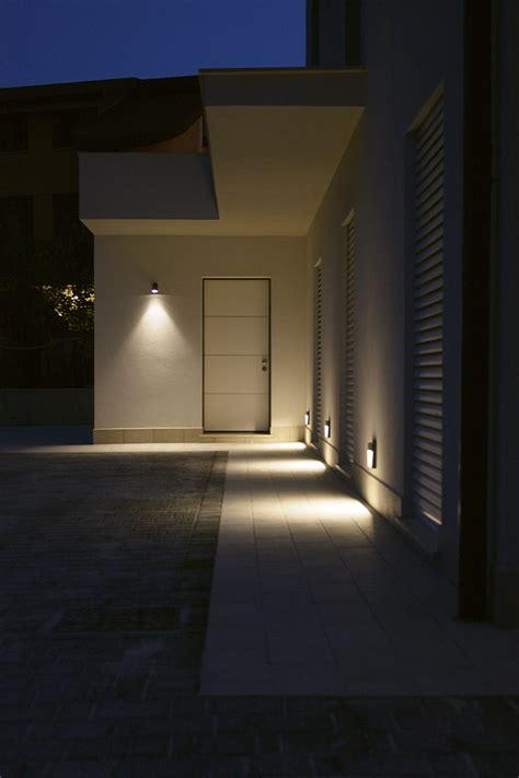 faretti illuminazione esterna illuminazione di casa r davide cammarata architetto