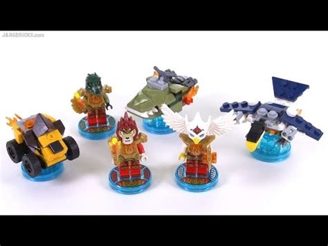 Lava L Unboxing by Lego Dimensions Laval Chima Pack Free Roam
