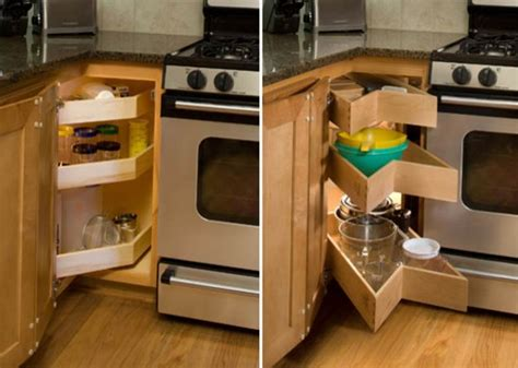 Corner Kitchen Cabinet Organization Ideas Corner Kitchen Cabinet Organization Www Imgkid The Image Kid Has It