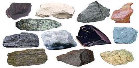 types of rocks types of rocks classification of rocks stones