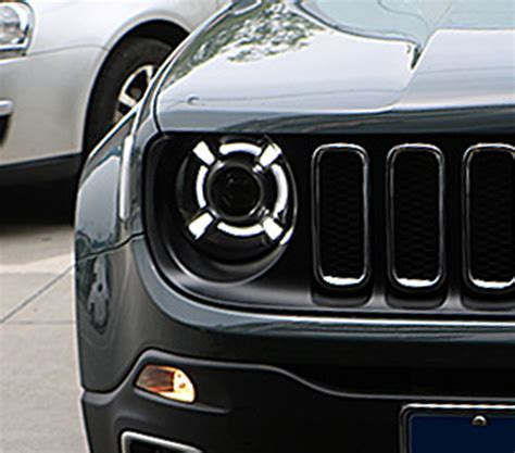 2016 jeep lights for jeep renegade 2016 composite headlight lens high