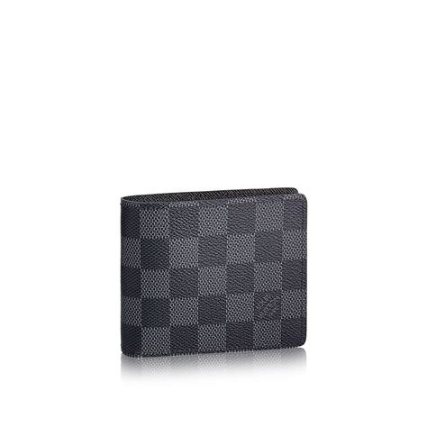 Denim Home Decor by Slender Wallet Damier Graphite Canvas Small Leather