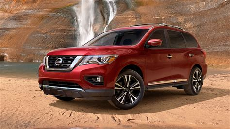 red nissan 2017 2018 nissan pathfinder features nissan canada