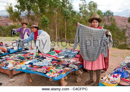 Handmade Articles For Sale - textiles and clothing for sale at the tourist market in