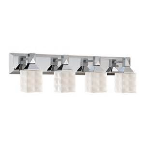 shop millennium lighting 4 light chrome bathroom vanity