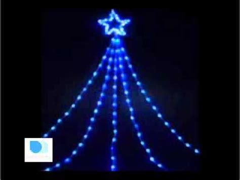 star caster christmas lights large led shooting star light blue white christmas