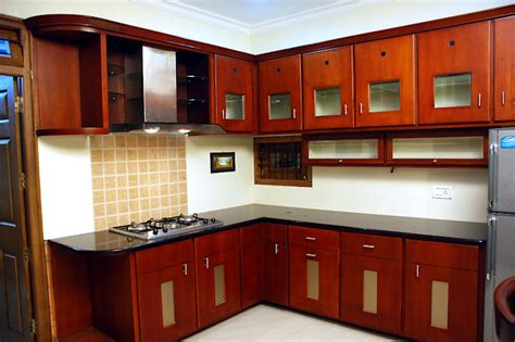 Woodwork Design For Small Kitchen
